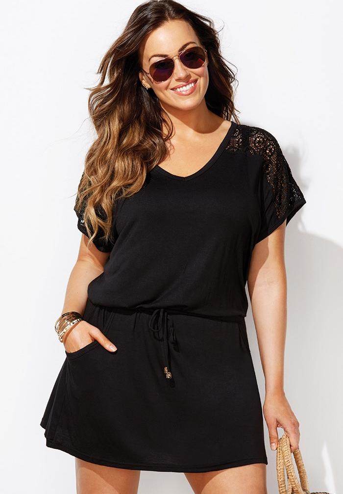 Emmie Crochet Cover Up Tunic,