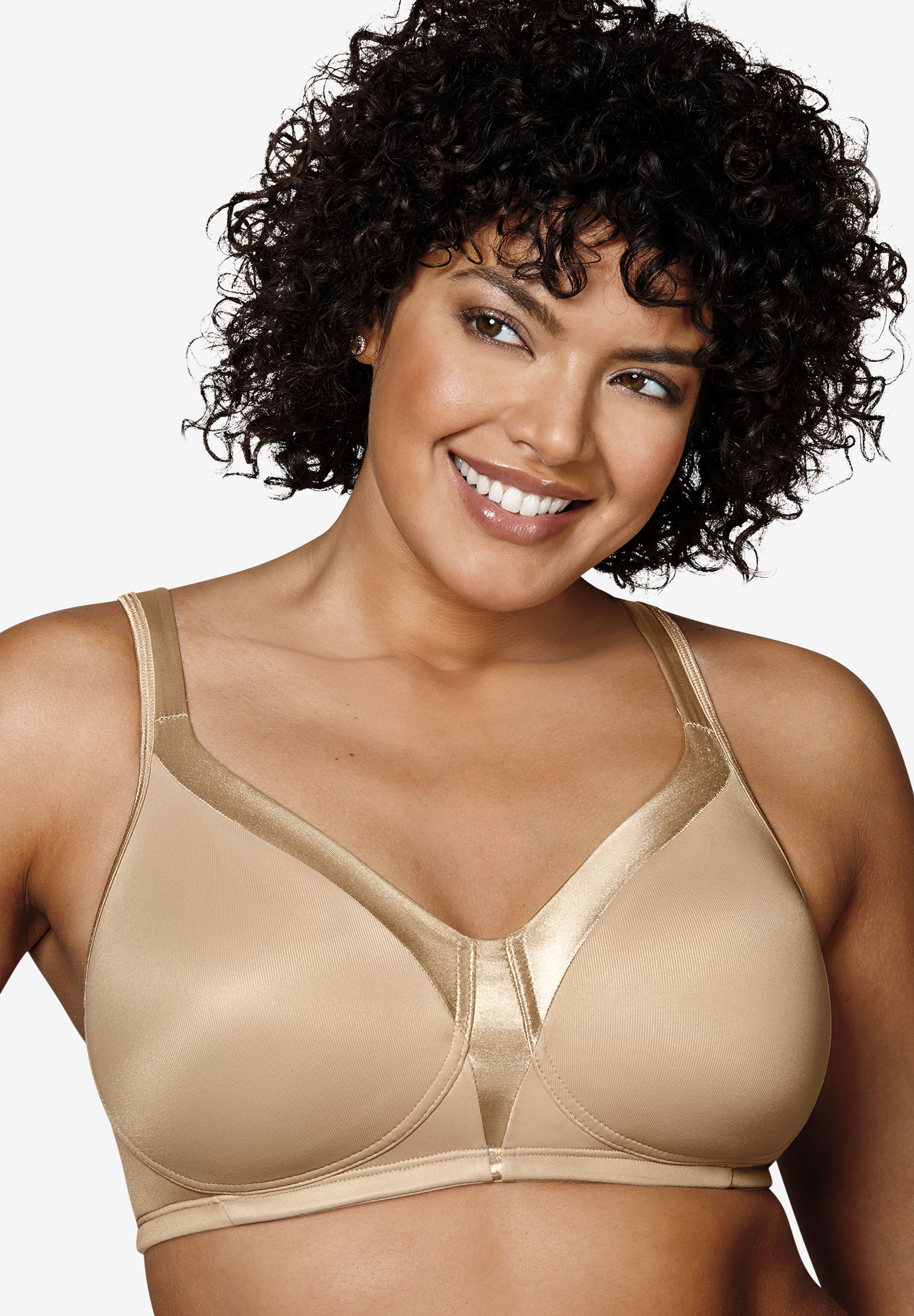 18 Hour® Silky Soft Smoothing Wireless Bra 4803B,