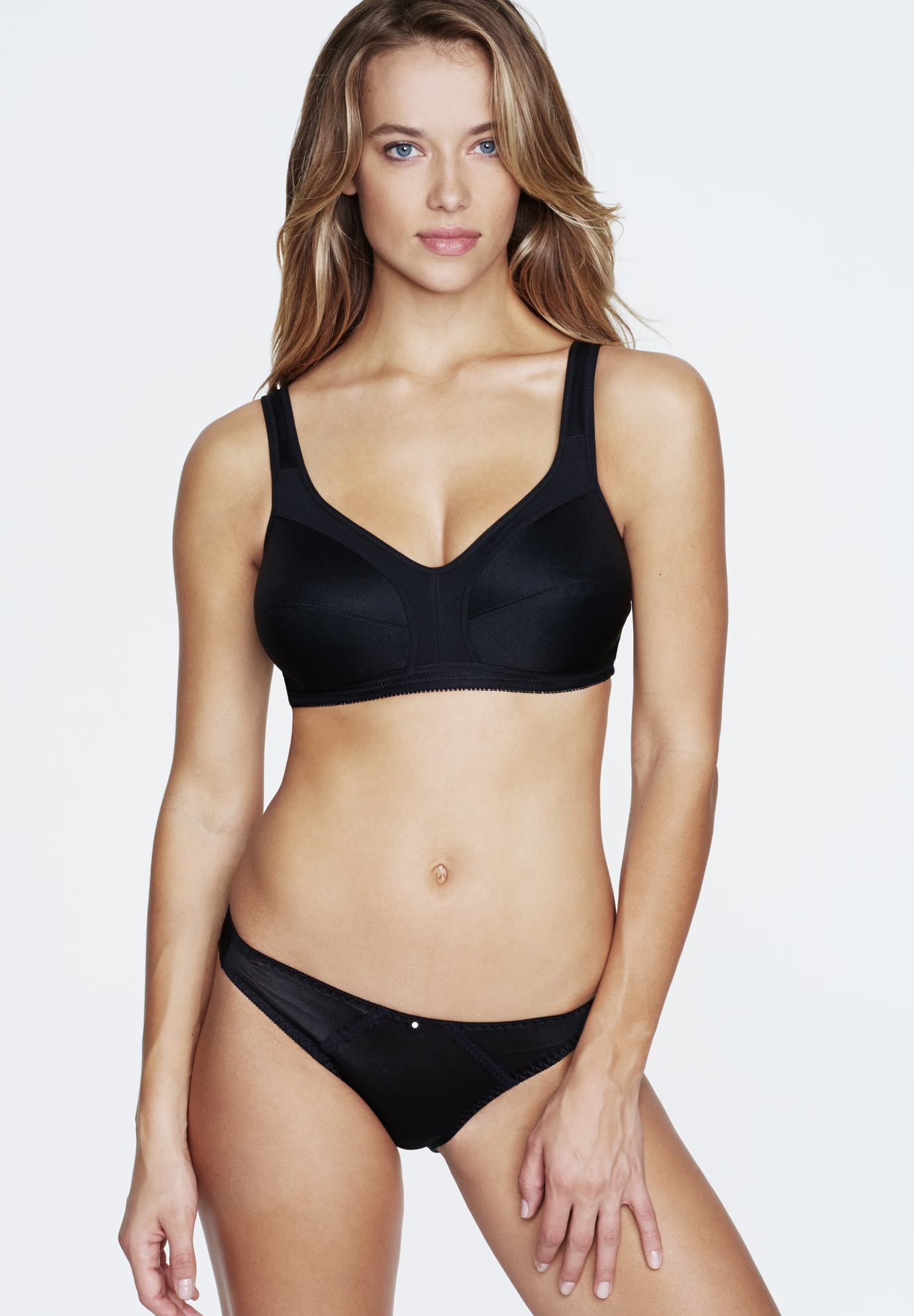 Isabelle Everyday Wire-Free Cotton-Lined Bra,
