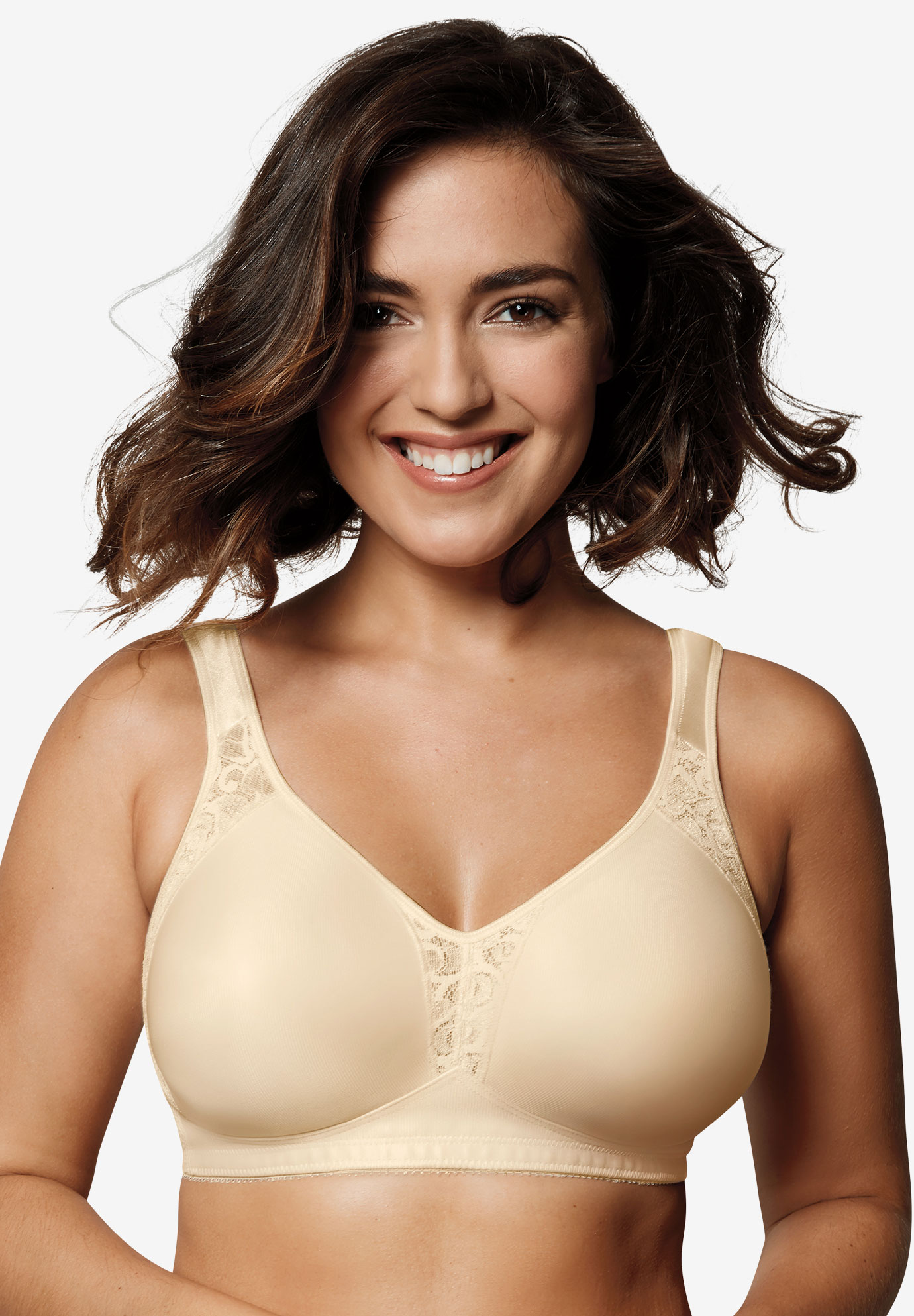 18 Hour® All-Around Smoothing Wireless Bra US4395,