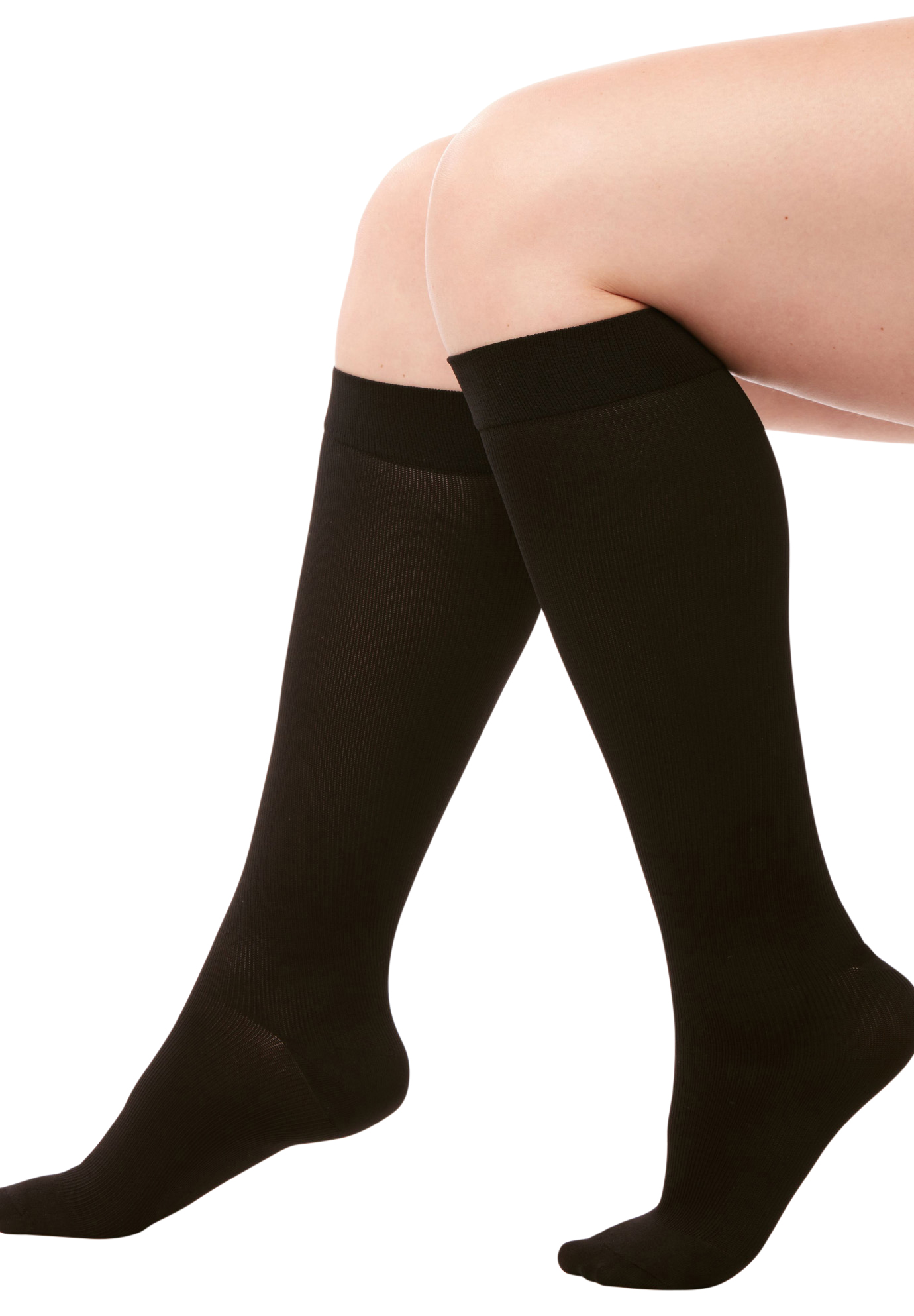 Medium Control Graduated Compression Trouser Socks,