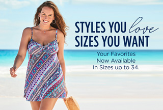 Extended Sizes up to 34