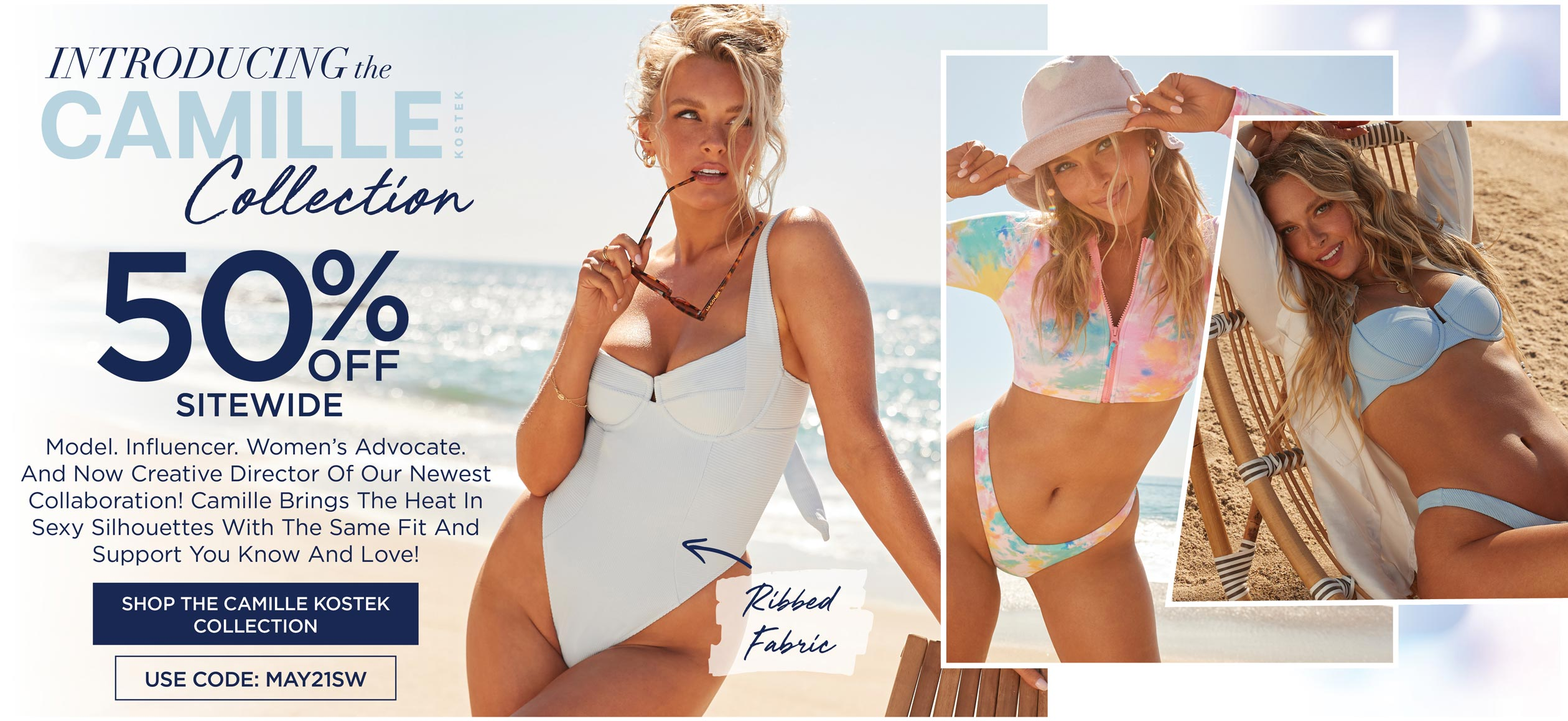 INTRODUCING THE CAMILLE KOSTEK COLLECTION